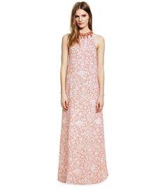 Pin for Later: 24 robes d'été pour les mamans de la mariée ! Robe longue Tory Burch Tory Burch Edna Gown (2.915 €)