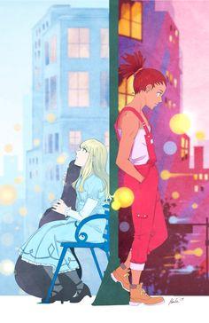 Carole and Tuesday Said Lesbian Rights Slice Of Life, Manhwa, Otaku, Manga Anime, Anime Art, Army Of Two, Animes To Watch, Black Anime Characters, Carole