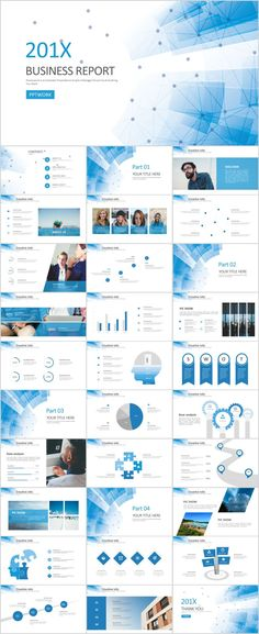 31+ Best Blue Business Report PowerPoint templates #powerpoint #templates #presentation #animation #backgrounds #pptwork.com#annual#report #business #company #design #creative #slide #infographic #chart #themes #ppt #pptx#slideshow#keynote