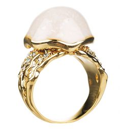 14kt Gold Plated Little Mermaid Ring