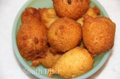 Deep South Dish: Hushpuppies ~ Classic Southern recipe, easy to make