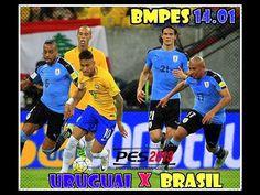 7ea5cb270f0 URUGUAI Vs. BRASIL - ELIMINATÓRIAS - PES 2013 | BMPES 14.01