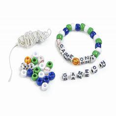Game On Beaded Bracelets