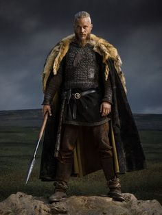 Vikings Season 2 Ragnar Lothbrok official picture Hintergrund in The Vikings Club