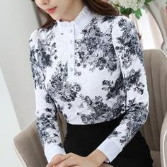 Women's Clothing Women Lace Pullover Mori Girls Autumn Spring Japanese Style Fresh Sweet Long Flare Sleeve Stand Collar White Lace Hollow Blouse Wide Varieties