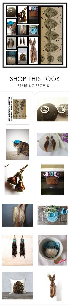 """""""Blue Meets Brown"""" by fibernique ❤ liked on Polyvore featuring Rustico and Raton"""