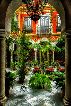 Courtyard Eric A. Wessman, Photographer