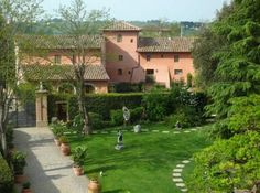 Villa Mangiacane Luxury Hotel in Tuscany: View from My Window