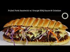 Pulled Pork Sandwich – Bruno Albouze – THE REAL DEAL - YouTube