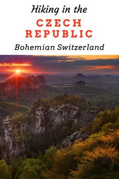 Bohemian Switzerland Czech Republic: Hiking in the Bohemian Switzerland National Park in the Czech Republic. The perfect day trip from Prague! We'll transport you door to door and explore the park with a local guide!