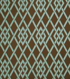 Upholstery Fabric- Eaton Square Sherry Teal Lattice: home decor fabric: fabric: Shop | Joann.com