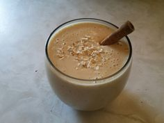 My favorite smoothie!  Peanut Butter Oatmeal Smoothie  Loaded in Protein  1/2 cup of Soy Milk -> 4 grams of protein 2 tablespoons Peanut Butter -> 8.0 grams 1 whole Banana -> 1.2 grams  1/4 cup Old Fashioned Oats  -> 2.7 grams 40DaysofSocial