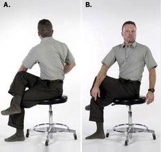 20 Ασκησεις Μεσης ideas - ασκήσεις, πόνος στην πλάτη..