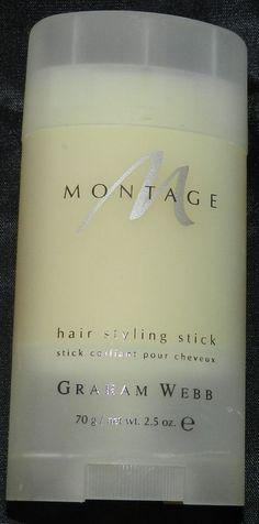 Graham Webb Montage Hair Styling Stick 2.5 oz #GrahamWebb