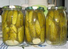 Ogórki kiszone na zimę - przepis ze Smaker.pl Polish Recipes, Polish Food, Food Storage, Pickles, Preserves, Cucumber, Harvest, Salads, Food And Drink