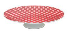 Krasilnikoff Tortenplatte Tortenplatte STARS Red