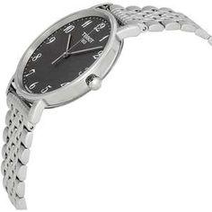 """Compania Tissot are ca simbol reprezentativ steagul elvetian alaturi de litera T, iar sloganul """"Inovatie prin traditie"""" reflecta filosofia Tissot de a le oferi clientilor mai mult. Watch Brands, Mai, Bracelet Watch, Watches, Classic, Accessories, Wrist Watches, Brand Name Watches, Wristwatches"""