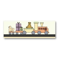 cute all toys business card