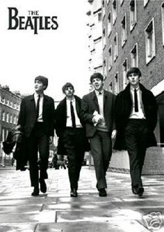 BRAND NEW POSTER The Beatles Street of London FREE SHIPPING