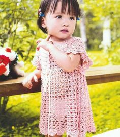 Dresses - Crochet Patterns for Baby (charted)