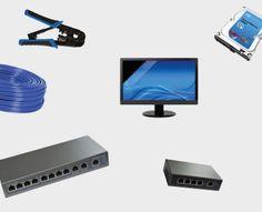 Les switchs IP POE les pinces, le câble, pas besoin d'ip fixe ni d'ouvri des…