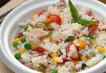 WW Rice Salad - Dish and Recipe - WW rice salad, recipe for a delicious summer salad, complete and very tasty, easy and simple to mak - Halal Recipes, Healthy Gluten Free Recipes, Healthy Pasta Recipes, Healthy Meals For Kids, Healthy Snacks, Easy Smoothie Recipes, Healthy Smoothie, Salad Dishes, Summer Salads