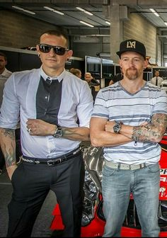Chester❤ and Dave