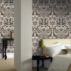Desire: Black & White Wallpaper Elixir Graham & Brown