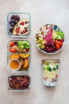 Proste i szybkie przepisy na lunchboxy na cały dzień do pracy. Idealne dla osób na redukcji. Jedz smacznie i zdrowo także poza domem. Healthy Plate, Bento, Meal Prep, Food Porn, Lunch Box, Food And Drink, Nutrition, Healthy Recipes, Snacks