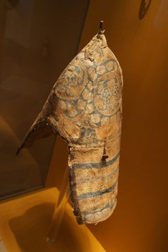 Photo album of 9th Century - Moschevaja Balka clothing in the State Herimtage Museum - Russia    Helmet cover