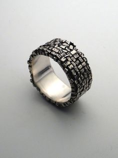 Path Ring by dmdmetal on Etsy, $185.00