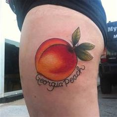 peach tattoo - Bing images