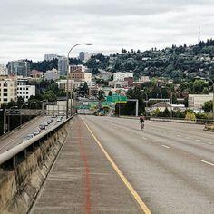 Bike the freeway.