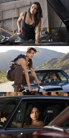 Vin Diesel Says A Female Fast & Furious Spin-Off Is Happening. Michelle Rodriguez and Jordana Brewster could be teaming up for a female Fast & Furious spin-off. Letty Fast And Furious, Fast And Furious Actors, The Furious, Michael Rodriguez, Dom And Letty, Badass Movie, Dominic Toretto, Furious Movie, Ride Or Die