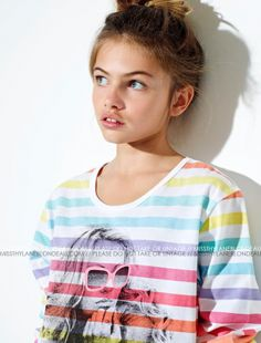 "BH #1 - ""IVY CARTER"" inspiration - (model Thylane Blondeau; aquiline nose to be great ""Ivy"" placeholder)"