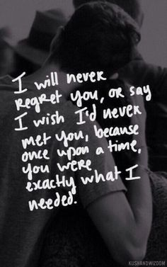 I Will Never Regret You Pictures, Photos, and Images for Facebook, Tumblr, Pinterest, and Twitter