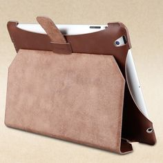 GGMM Brown Genuine Leather Case for iPad 4 3 with Stand Back Cover  http://www.slickfuns.com/ggmm-brown-genuine-leather-case-for-ipad-4-3-with-stand-back-cover.html