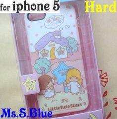 Sanrio little twin star apple I-phone cases.