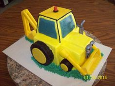 Bob the Builder by Jayme Sues Cakes this is my mom's friend she makes amazing cakes I'm trying to get her spread around