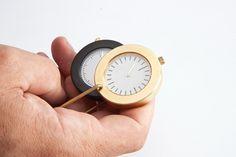 Nimrod Or pocket watch. Modern take on a classic approach to timepiece design.  #watch #pocketwatch