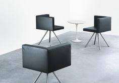 Lounge Sessel Nanu - girsberger, anspruchsvoller Besprechungsstuhl