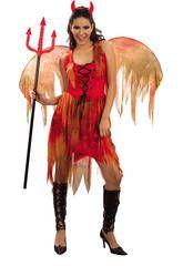 Disfraz demonia mujer