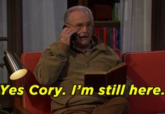 """Mr. Feeny Is Officially Back In The First Episode Of """"Girl Meets World""""…"""