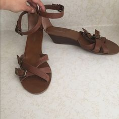 Old Navy Shoes - Old Navy wedge sandals