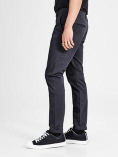 Marco dark grey slim fit chinot | JACK & JONES