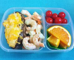 Operation: Lunch Box: Day 194 - Baked Shrimp