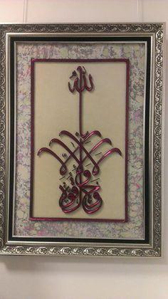 . String Art, Islamic Art, Pop, Frame, Decor, Leather, Picture Frame, Popular, Decoration