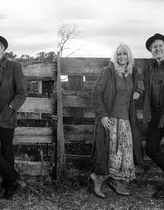 Emmylou Harris and Rodney Crowell by David McClister for the Wall Street Journal