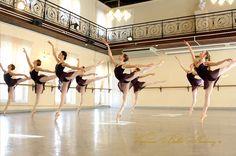 .class in a beautiful studio