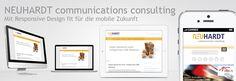 Mit Responsive Webdesign fit in die mobile Zukunft der Kommunikation. Unter diesem Motto hat NEUHARDT communications consulting nach mehr als drei Jahren seinen Internetauftritt relauncht. Ziel war es ein klares und einfach strukturiertes Design zu verwirklichen, das den aktuellen Anforderungen an Kommunikation im Internet gerecht wird. Die Seite www.neuhardt-consulting.de wird …